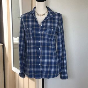 Old Navy Flannel Button Down